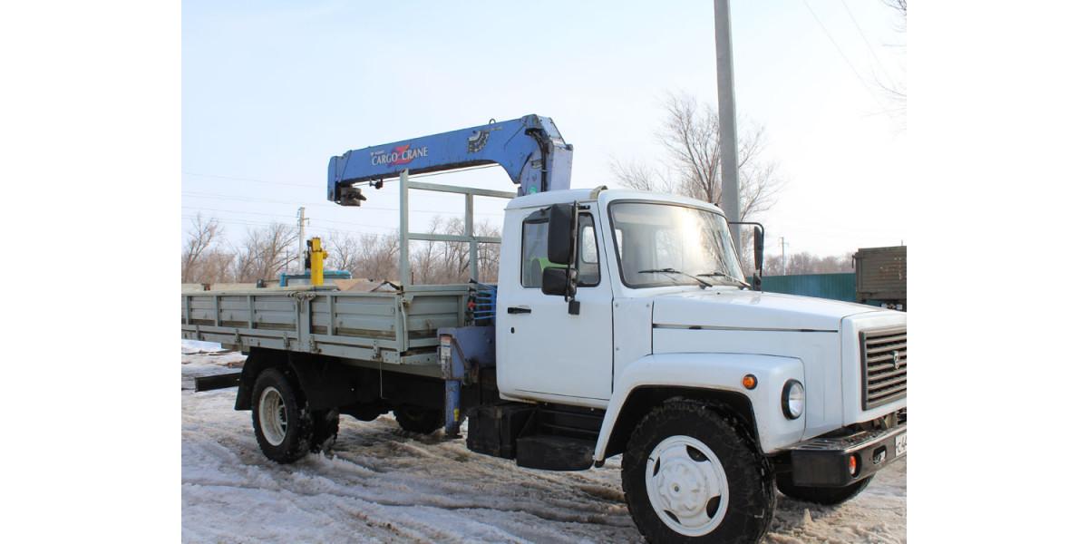 КМУ Тадано Cargo Crane 303 на ГАЗ 3309